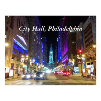 Carte postale d'hôtel de ville