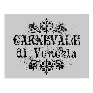 Carte Postale Di Venezia de Carnevale