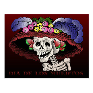 Carte Postale Dia de los Muertos [carte postale]
