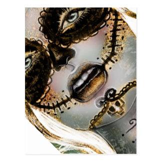 """Carte Postale """"Dia de Los Muertos"""" (jour des morts)"""