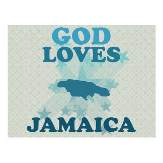 Carte Postale Dieu aime la Jamaïque