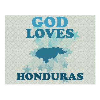 Carte Postale Dieu aime le Honduras