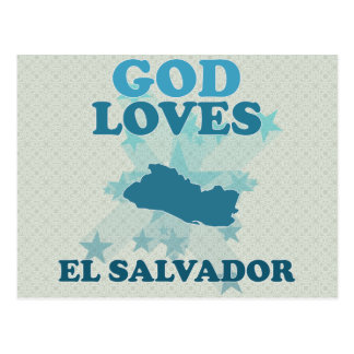 Carte Postale Dieu aime le Salvador