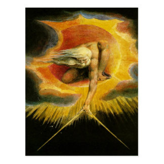 Carte Postale Dieu d'art de William Blake
