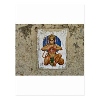 Carte Postale Dieu de singe