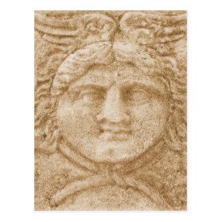 Carte Postale Dieu grec Hermes DÉCRIVENT l'image antique de