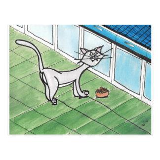 Carte postale difficile de Kitty