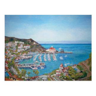 Carte postale d'île de Catalina