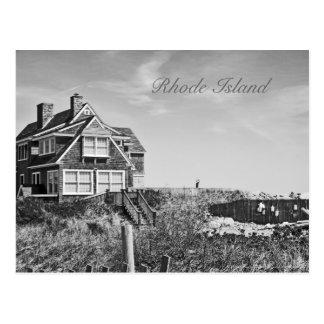 Carte postale d'Île de Rhode