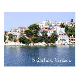 Carte postale d'île de Skiathos, Grèce