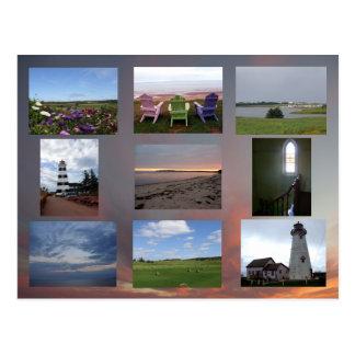 Carte postale d'île Prince Edouard