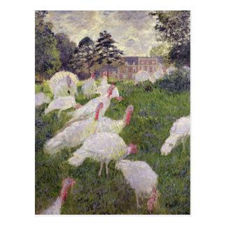 Carte Postale Dindes de Claude Monet | chez Chateau de