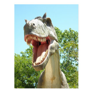 Carte Postale Dinosaure de T-Rex de Tyrannosaurus
