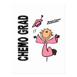 Carte Postale DIPLÔMÉ 1 de CHIMIO de cancer du sein