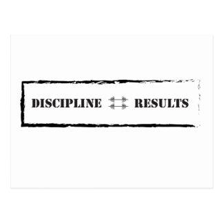 Carte Postale Discipline = résultats