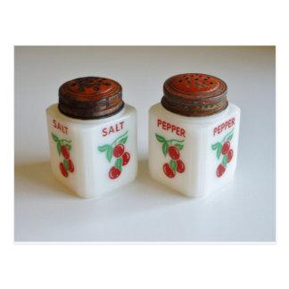 Carte Postale Dispositifs trembleurs de sel vintages et de