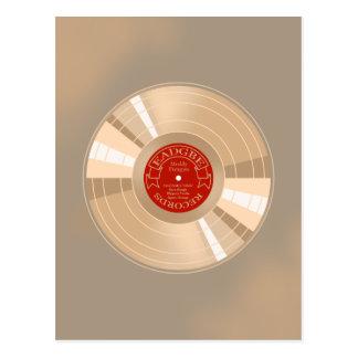 Carte Postale Disque d'or