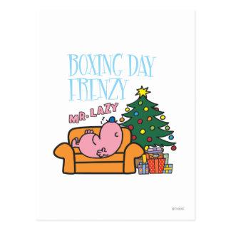 Carte Postale Divan de M. Lazy Resting On A