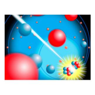 Carte Postale Division de l'atome