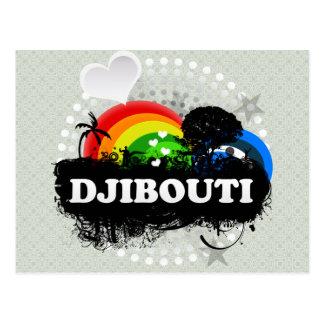 Carte Postale Djibouti fruité mignon
