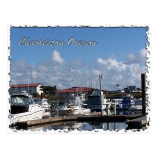 Carte Postale Docks de bateau