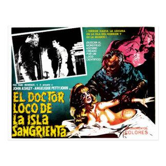 Carte Postale Docteur Loco De La Isla Sangrieta d'EL