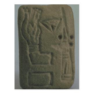 Carte Postale Document se composant des idéogrammes, d'Uruk,