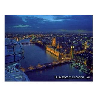 carte postale d'oeil de Londres