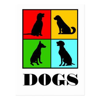 Carte Postale Dogs styles