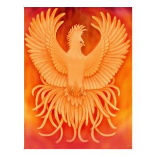 Carte postale d'oiseau de Phoenix