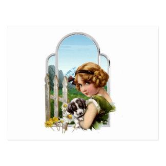 Carte Postale Domestique alpine