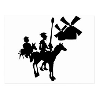 Carte Postale Don don Quichotte