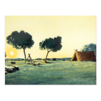 Carte Postale DON DON QUICHOTTE - animation Background (1979)