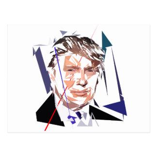 Carte Postale Donald Trump