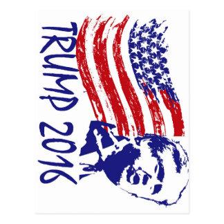 Carte Postale Donald Trump pour le président 2016 - républicain