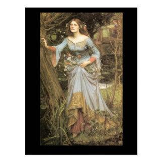 Carte postale d'Ophélie