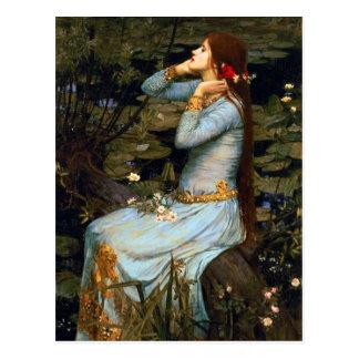 Carte postale d'Ophélie de château d'eau