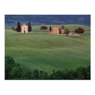 Carte Postale d'Orcia de San Quirico de chapelle, Toscane,