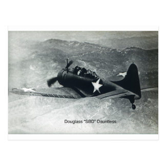 Carte Postale Douglas Dauntless-2
