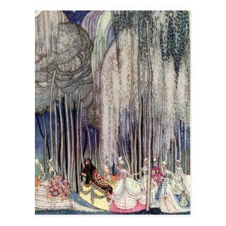 Carte Postale Douze princesses de danse de Kay Nielsen
