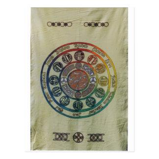 Carte Postale Douze tribus et disciples