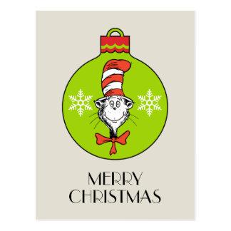 Carte Postale Dr. Seuss | le classique de Grinch | le chat dans