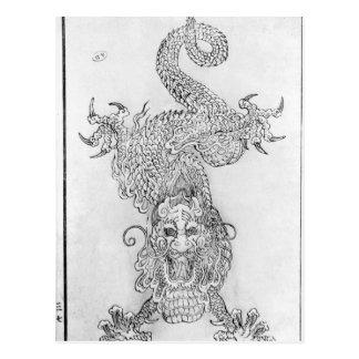 Carte Postale Dragon