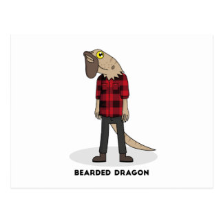 Carte Postale Dragon barbu