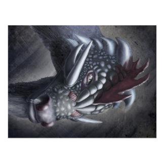 Carte Postale Dragon de poulet
