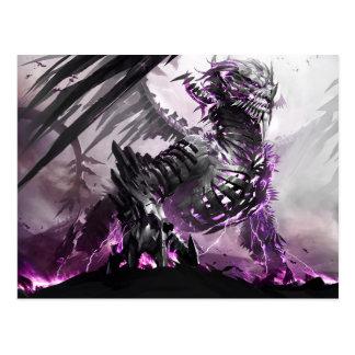 Carte Postale Dragon pourpre 5