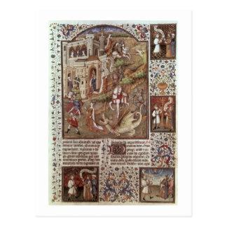 Carte Postale Dragons de massacre de St George