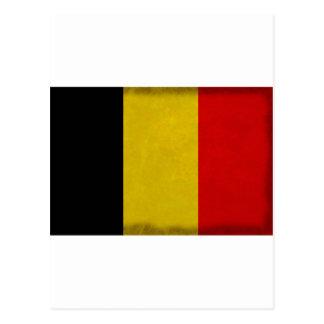 Carte Postale Drapeau Belgique Belge