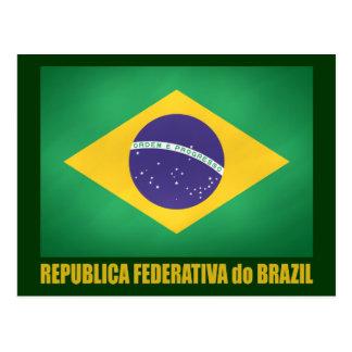 Carte Postale Drapeau brésilien