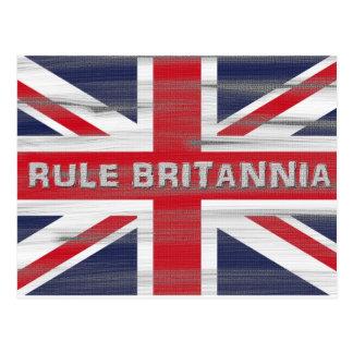 Carte Postale Drapeau britannique d'Union Jack